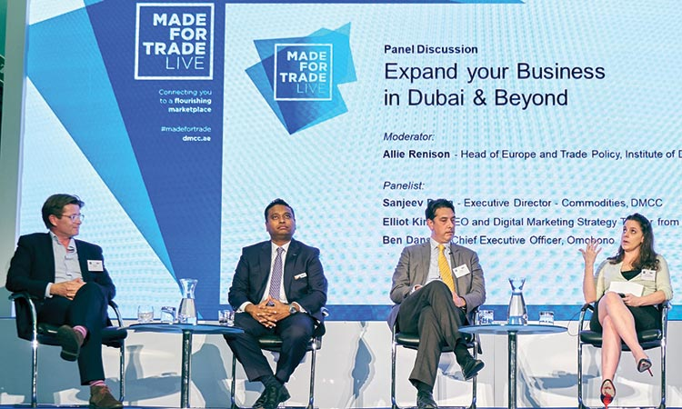 DMCC roadshow promotes Dubai's commercial proposition