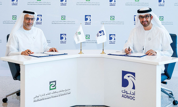 Adnoc and ADRPBF in pipeline infrastructure investment deal