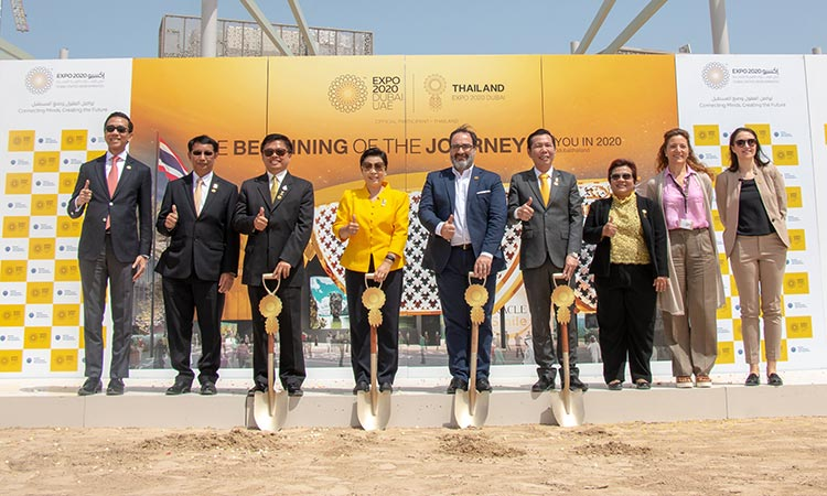 Thailand breaks ground for Expo 2020 Dubai pavilion - GulfToday