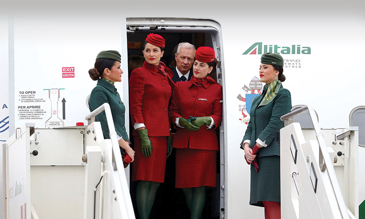 Alitalia-Flight