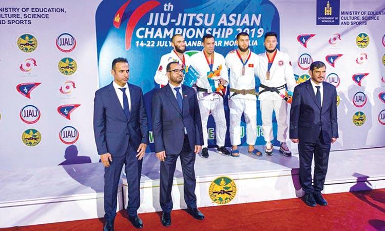 UAE Falcons claim 4 medals on day one of Jiu-Jitsu Asian C'ship