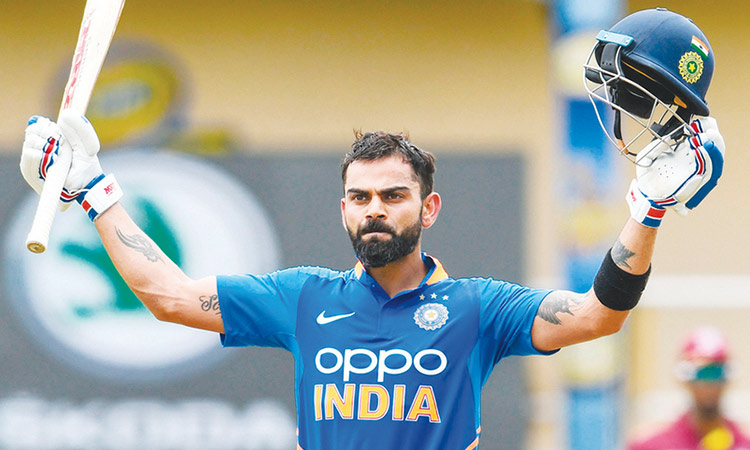 Kohli powers India to ODI series win