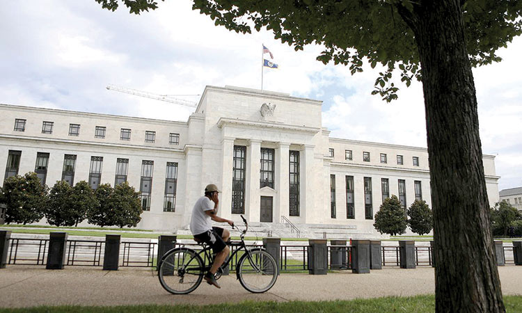 Federal-Reserve-building-in-Washington