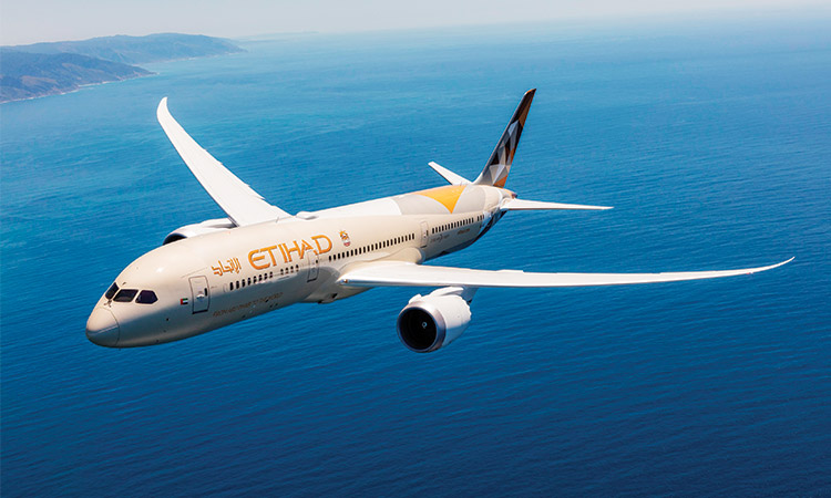 Etihad's Dreamliner arrives in Lagos A state-of-the-art Etihad Airways Boeing 787-9 Dreamliner - Gulf Today