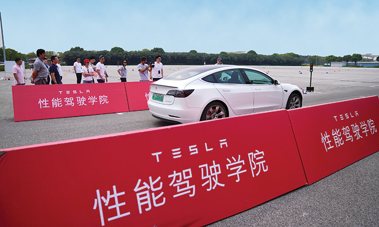 Tesla launches 'driving school' in China to help promote