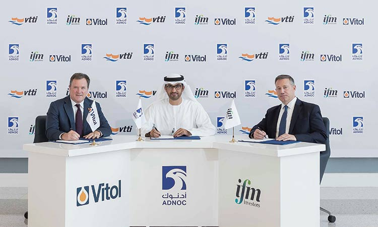 Adnoc acquires 10% stake in global storage operator VTTI