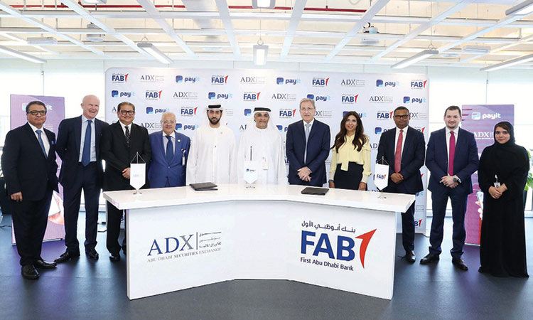 ADX and FAB to distribute cash dividend via electronic