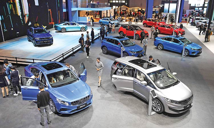 CAAM: China vehicle sales dropped 8.2% in 2019