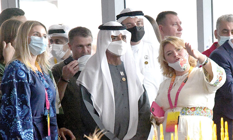 Expo 2020 is an inspiring global platform for promoting peace and human fraternity: Nahyan