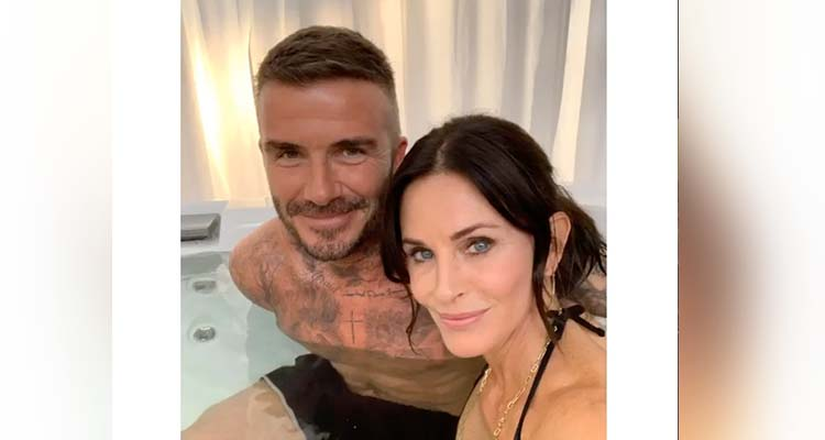 Video Courtney Coxs Pics In Hot Tub With Beckham Confuses