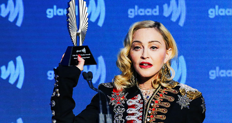 Madonna honoured at GLAAD Media Awards New York - GulfToday