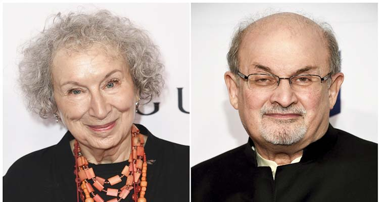 Atwood, Rushdie shortlisted for booker Prize - GulfToday