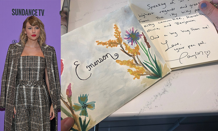 Taylor Swift Surprises Fan Who Wrote A Moving Letter To Mailman Gulftoday