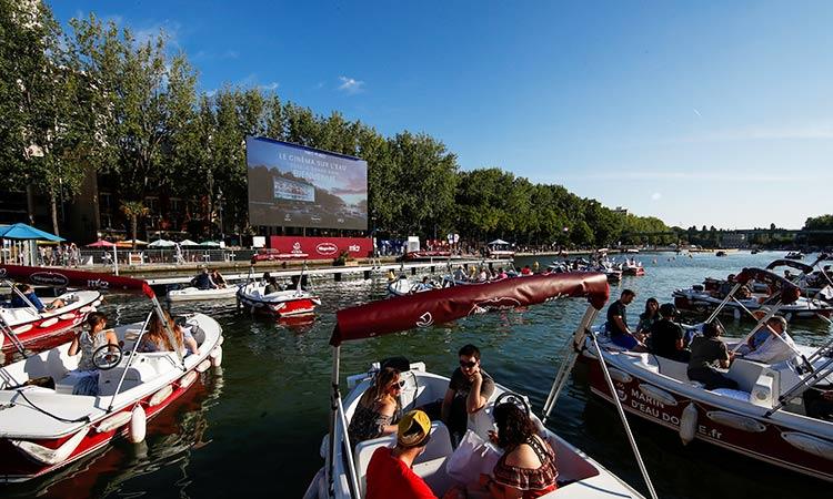 Movie magic as Paris turns the Seine River into open-air cinema ...