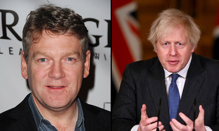 Kenneth Branagh to play Boris Johnson in Sky drama