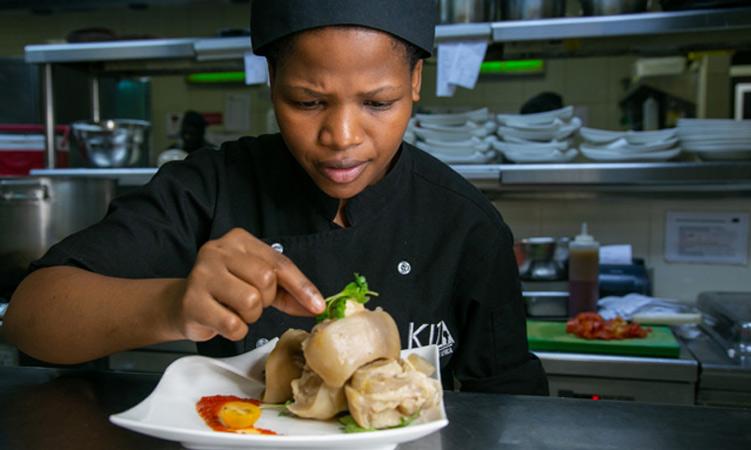 KIZA Dubai chef