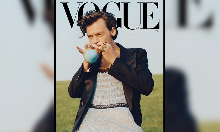 Harry style vogue 1