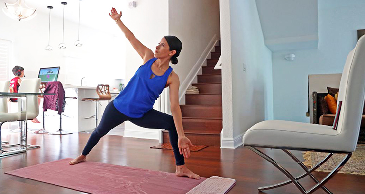 Learn How To Practice Yoga At Home Amid Being Quarantined The Coronavirus Pandemic Gulftoday