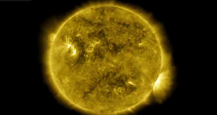 NASA unbelievable  releases 10-year lapse of the sun