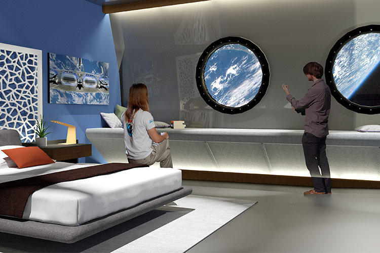 Hotel suites will offer a luxury experience.