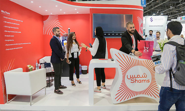 Shams Shows Technology At Gitex Gulftoday