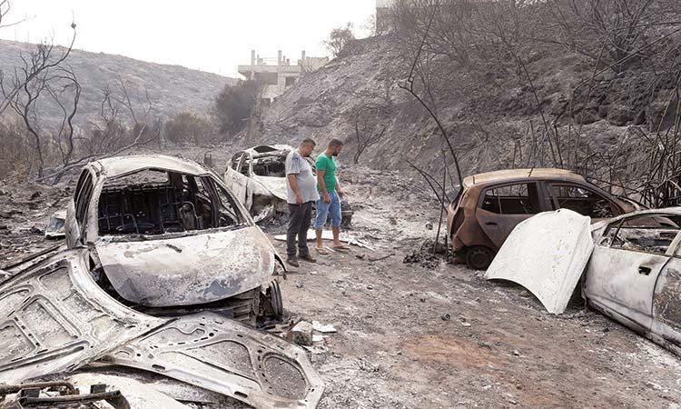 Lebanon-Wildfire