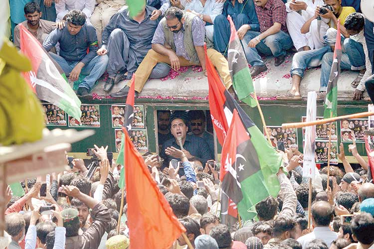 Bilawal-train-march