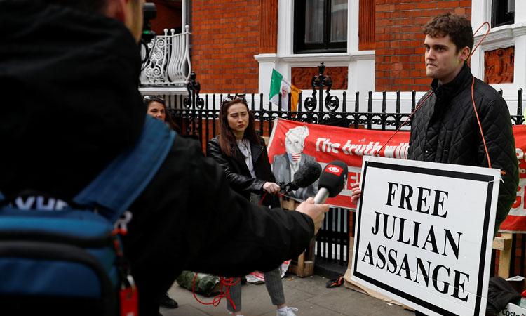 Julian Assange Arrested In London After Ecuador Withdraws