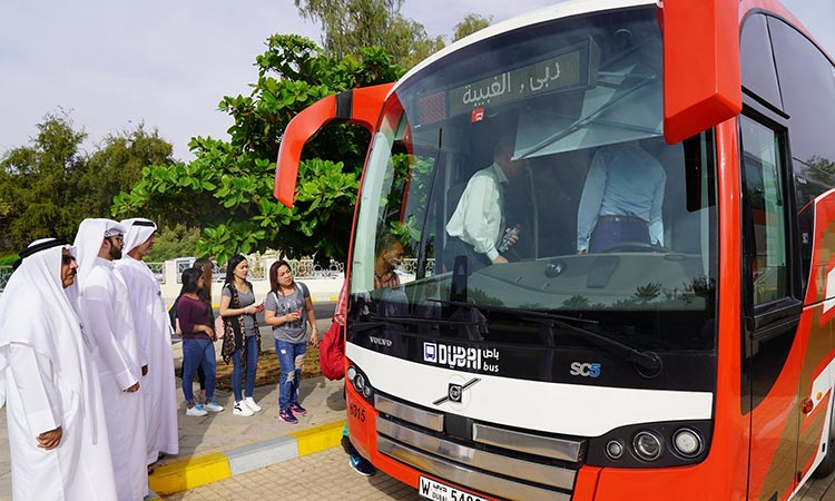 First bus route from Dubai to Al Ain launched - GulfToday