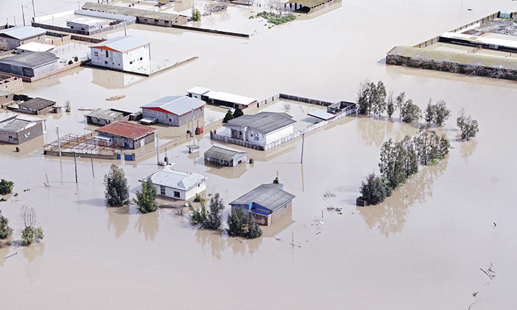 Iran-flood