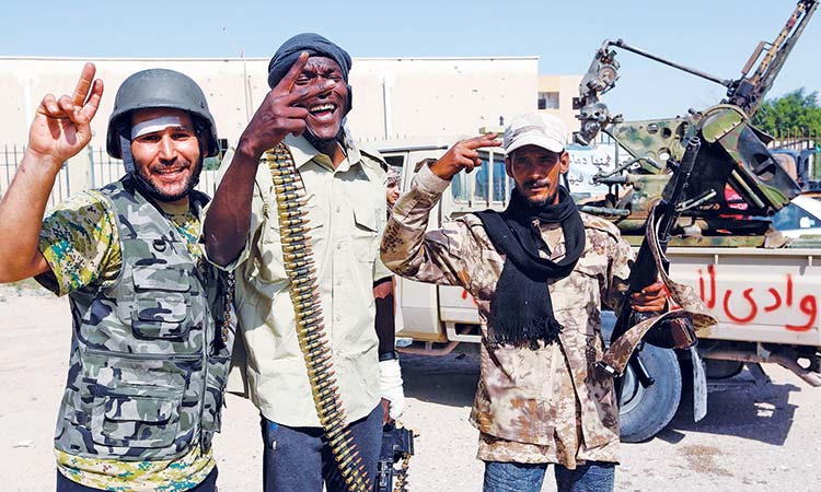 France supporting Haftar: Libya