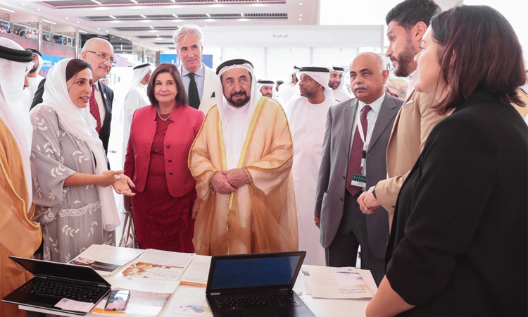 Sheikh Sultan opens IFLA's 4th Regional Conference in Arab World in