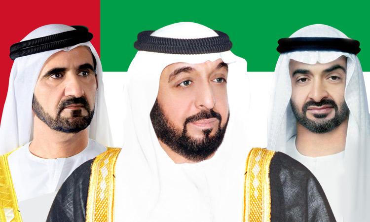 Rulers congratulate Khalifa, Mohammed and Mohamed Bin Zayed on Eid