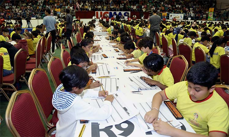 Emiratis shine at mental maths contest - GulfToday