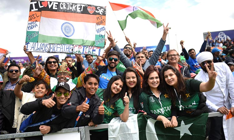 This is not war:' Fans make peace as India crush Pakistan