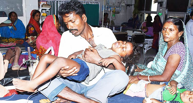 Brain disease kills over 100 Indian children, 'heat curfew ...