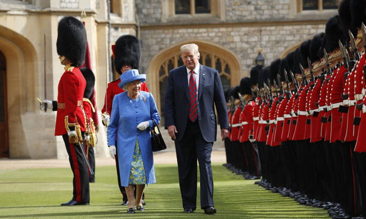 UK's May Hopes Trump's Visit to UK to Strengthen Bilateral Cooperation