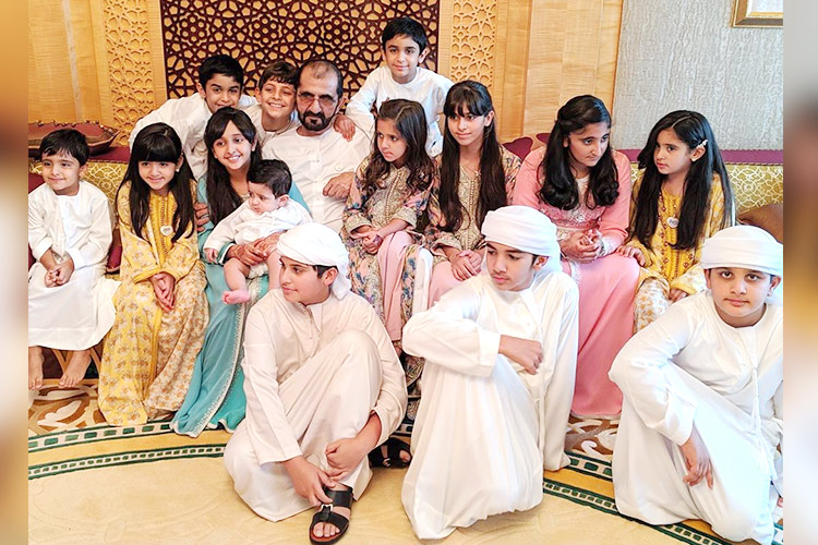 Sheikh Mohammed spends quality time with family - GulfToday