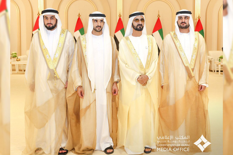 Video Uae Rulers Attend Wedding Reception Of Sheikh Mohammed S Sons Gulftoday