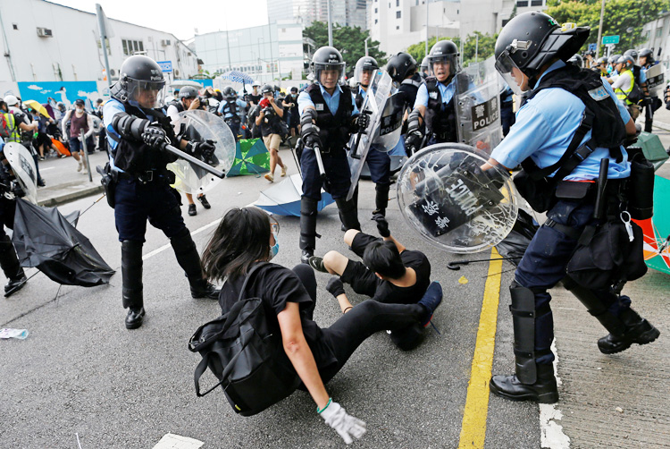 Hong Kong police end 12-day siege on school campus