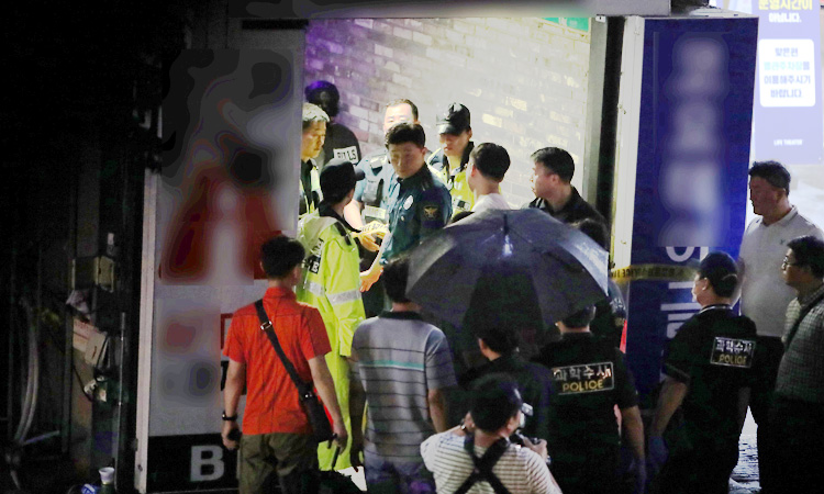 Two dead in South Korea balcony collapse near swimming competition