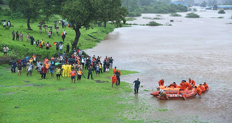 A total lot of passengers rescued from flooded put collectively