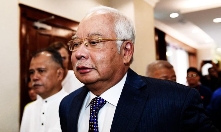 Malaysia ex-PM Najib's major 1MDB trial postponed - GulfToday