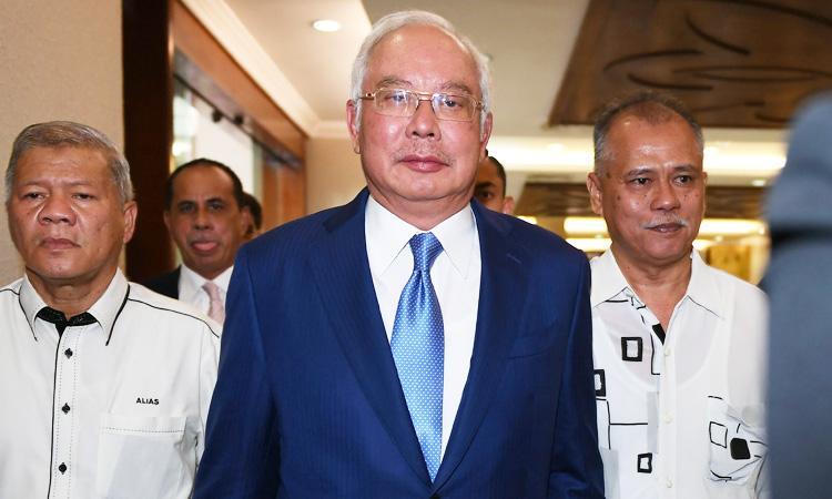 Malaysia ex-PM Najib's biggest 1MDB trial begins - GulfToday
