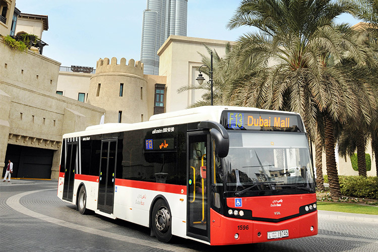 Dubai's RTA launches new night bus service, improves other