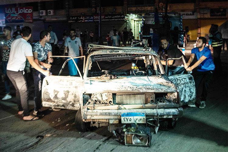 Fiery Cairo car crash blast claims 20 lives - GulfToday