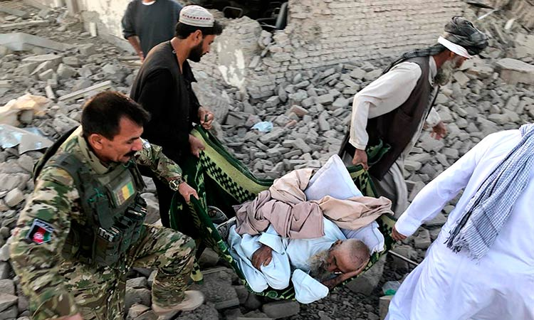 Blast At Afghan Mosque Kills 62 During Friday Prayers