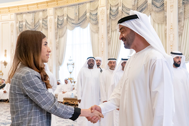 Mohamed Bin Zayed discussed strengthening women's