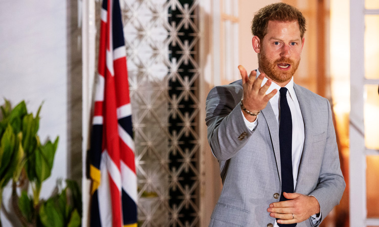 Prince Harry to meet Angola's President Joao Lourenco