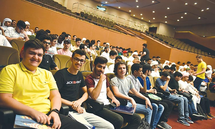 ADU welcomes over 7,350 students at 3 campuses - GulfToday